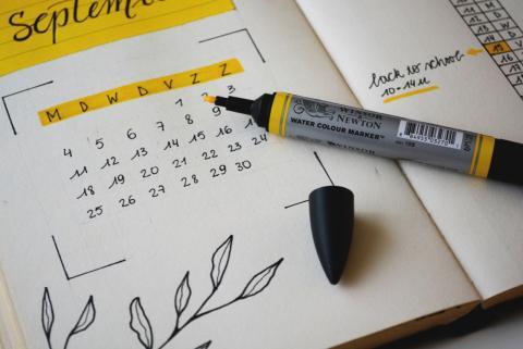 Calendarios de procedimientos administrativos