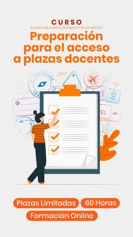 CURSO: La Acción Educativa Española en el Exterior: preparación de pruebas de acceso a plazas docentes (tercera edición)