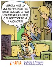 Acoso de los inspectores