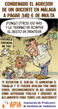 Agresión en Málaga