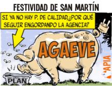 La AGAEVE y San Martín