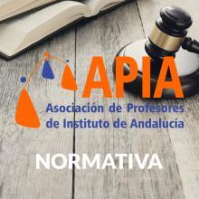 Nota aclaratoria sobre la normativa a aplicar en la programación de las oposiciones