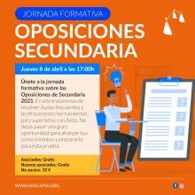 Jornada Informativa sobre oposiciones