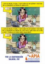 Mismas funciones, mismo sueldo